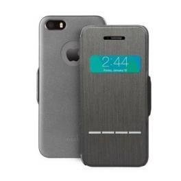 SenseCover- Funda iPhone 5S Steel Black
