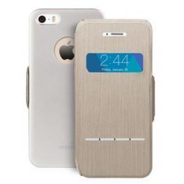 SenseCover- Funda iPhone 5S Brushed Titanium